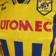 Juve Stabia 2004 2005 ls home shirt Fly Line maglia jersey size S signed (4)