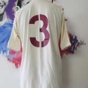 Match worn AS Roma 2005 away shirt pre season #3 (2)