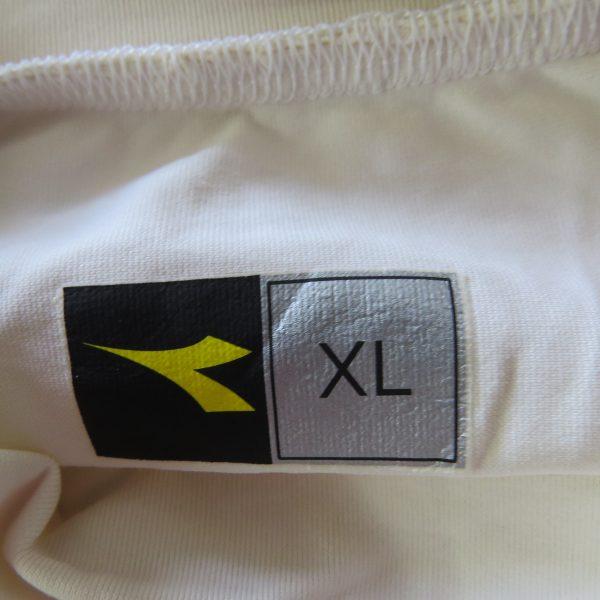 Match worn issue AS Roma 2005 pre-season shirt diadora #8 (Aquilani) XL (4)