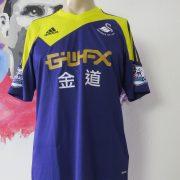 Match worn issue SWANSEA City 2013 2014 EPL away shirt Ben Davies 33 (1)