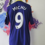 Match worn issue SWANSEA City 2013 2014 EPL away shirt Michu 9 (3)