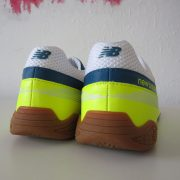 New Balance yellow indoor football boot size US 9.5 UK9 EU 43 NEW (3)
