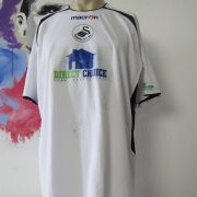 SWANSEA City 2005 2006 charity match shirt #21 Cancer research Macmillan signed (1)