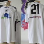 SWANSEA City 2005 2006 charity match shirt #21 Cancer research Macmillan signed