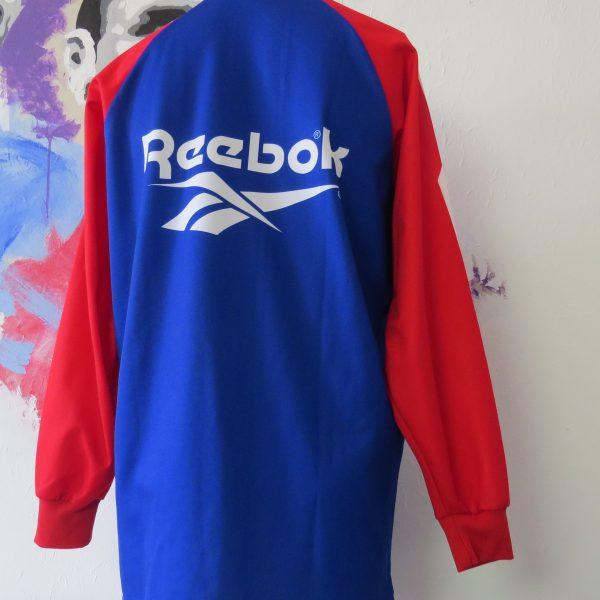 Vintage Calcio Monza long sleeve training shirt Reebok soccer jersey size XL (4)