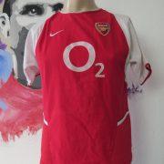 Arsenal 2002 2003 2004 home shirt Nike Ljungberg 8 invincibles size boys L 164 (1)