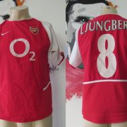 Arsenal 2002 2003 2004 home shirt Nike Ljungberg 8 invincibles size boys L 164