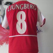 Arsenal 2002 2003 2004 home shirt Nike Ljungberg 8 invincibles size boys L 164 (3)