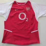 Arsenal 2002 2003 2004 home shirt Nike Ljungberg 8 invincibles size boys L 164 (4)