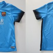 Barcelona 2015 2016 Third Shirt Nike Suarez 9 Size 6-7Y 116-122cm