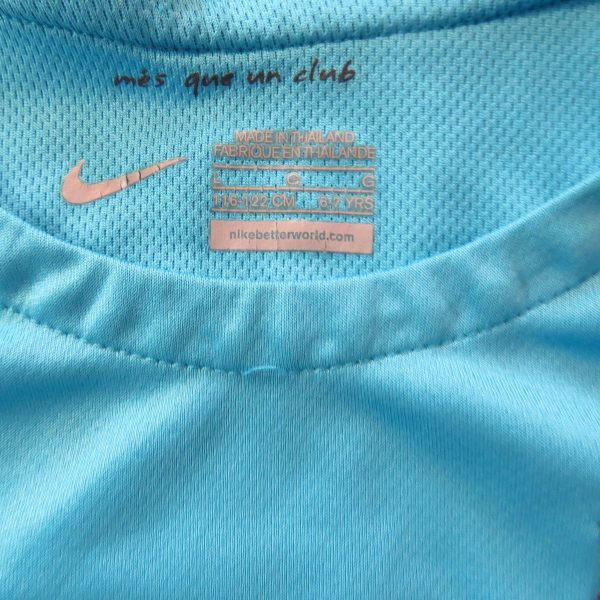 Barcelona 2015 2016 Third Shirt Nike Suarez 9 Size 6-7Y 116-122cm (2)