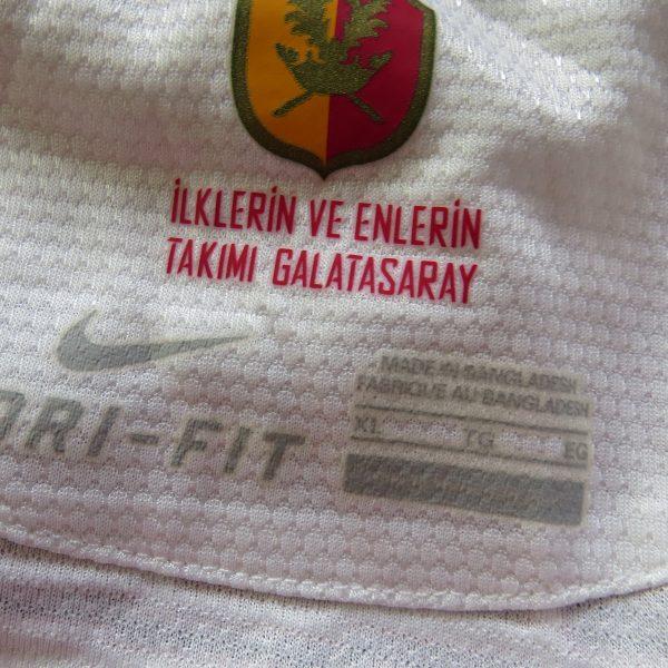 Galatasaray 2012 2013 away shirt Nike soccer jersey size XL (4)