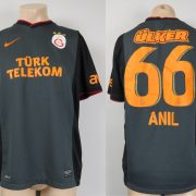 Galatasaray 2013-14 away shirt Nike soccer jersey #66 Anil size L (1)