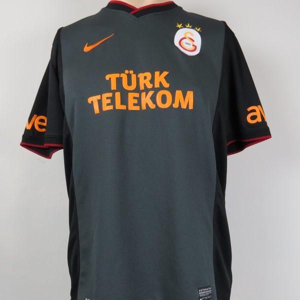 Galatasaray 2013-14 away shirt Nike soccer jersey #66 Anil size L (2)