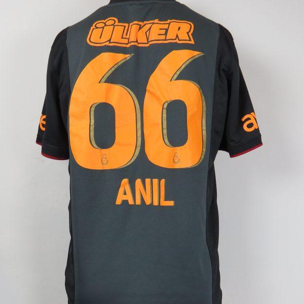 Galatasaray 2013-14 away shirt Nike soccer jersey #66 Anil size L (3)