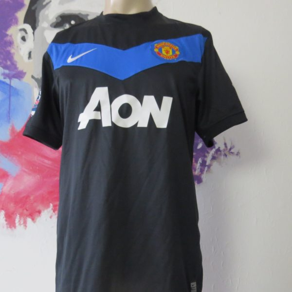 Match worn issue Manchester United 2011 EPL away shirt Rooney 10 (1)