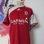 Middlesbrough 2009 2010 home shirt adidas soccer jersey size M (1)