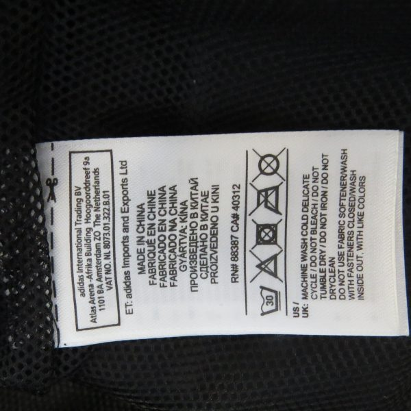 Middlesbrough 2014 2015 rain jacket shirt adidas size 15-16Y 176cm (2)