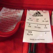 Middlesbrough 2017 2018 track jacket shirt adidas climalite size 15-16Y 176cm (2)