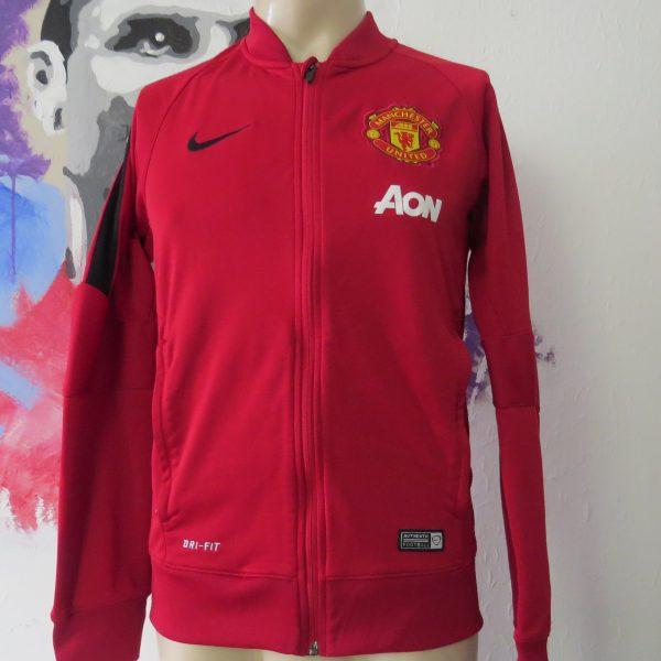 Nike Men's Manchester United Squad Sideline Knit Jacket 201415 size S (4)