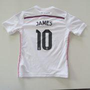 Real Madrid 2014 2015 home shirt adidas Boys S 9-10Y 140cm James 10 (1)
