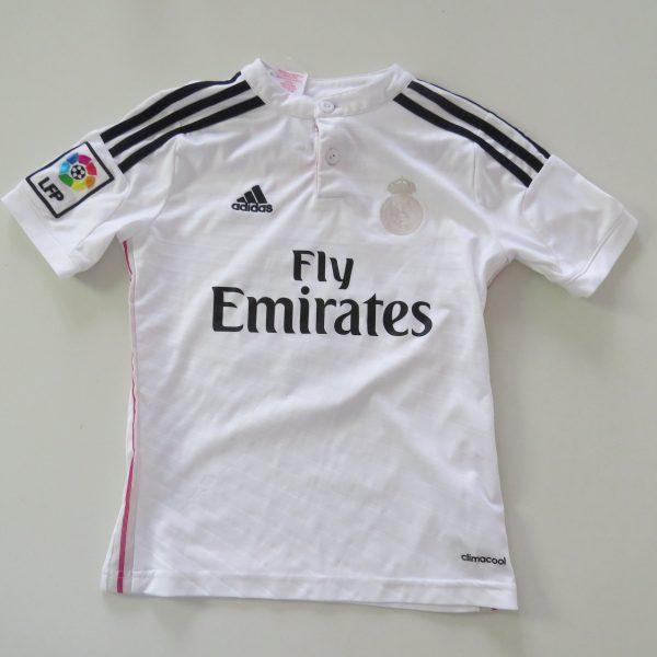 Real Madrid 2014 2015 home shirt adidas Boys S 9-10Y 140cm James 10 (4)