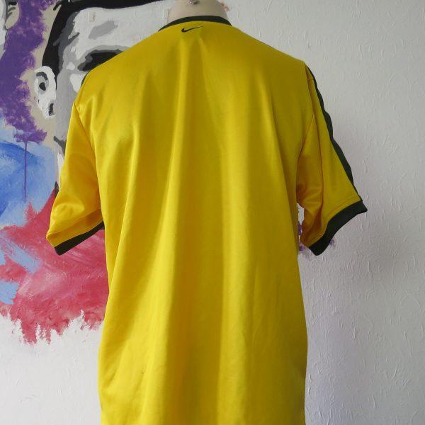 Vintage Brazil 1998 training shirt NIKE Brasil soccer jersey size M (3)