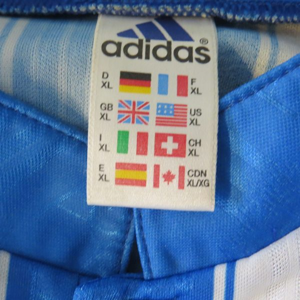 Vintage Deportivo La Coruna 1996 1997 1998 home shirt adidas size XL MINT (2)