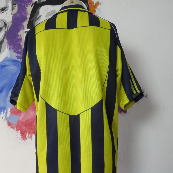 Vintage Fenerbahce 1999 2000 home shirt adidas soccer jersey size M (2)