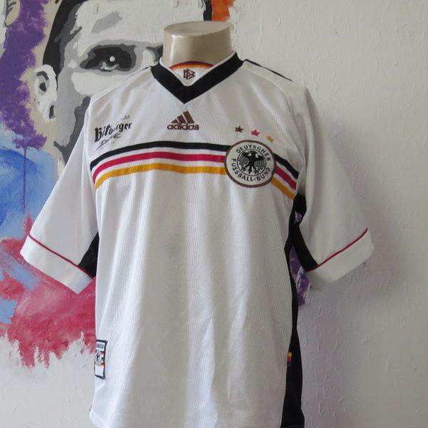 Vintage Germany World Cup 1998 1999 2000 home shirt adidas trikot size M (1)