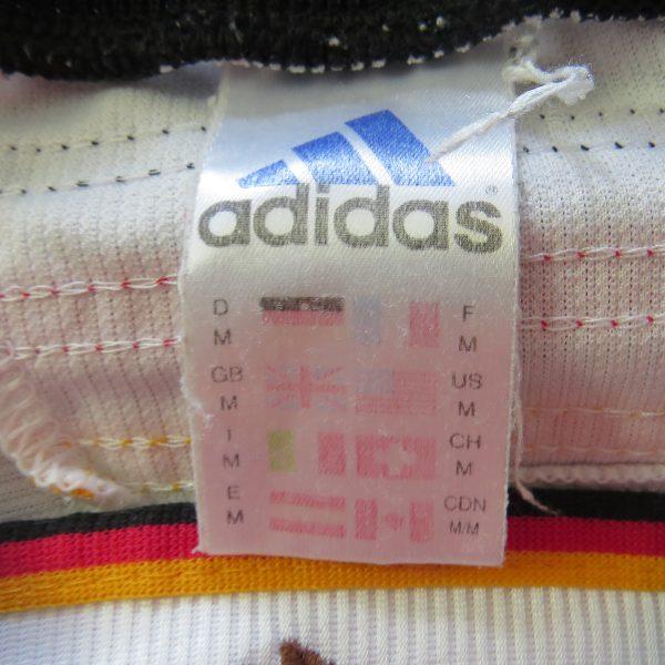 Vintage Germany World Cup 1998 1999 2000 home shirt adidas trikot size M (3)