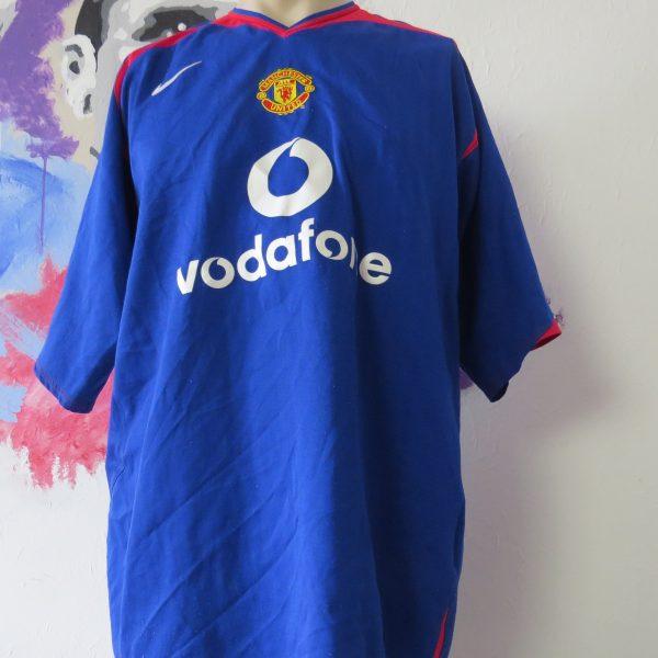 Vintage Manchester United 2005 2006 away shirt Nike soccer jersey size XXL (1)