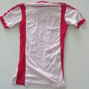 Vintage sport 1970ies 1980ies white red football shirt size boys L 12Y (3)