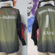 Bayern Munchen 2003 2004 LS GK shirt adidas Munich Kahn 1 size S (1)