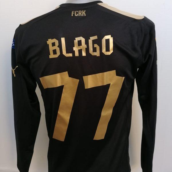 Match issue Rubin Kazan 2015 Europa league third shirt Blago 77 (6)