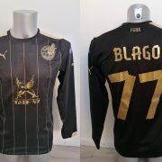 Match issue Rubin Kazan 2015 Europa league third shirt Blago 77 (8)