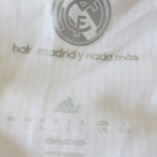 Real Madrid 2015 2016 LFP ls home football shirt adidas jersey size L (4)