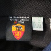 Vintage AS Roma 1998 1999 track jacket Diadora training size S UK34 IT44+ (2)