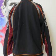 Vintage AS Roma 1998 1999 track jacket Diadora training size S UK34 IT44+ (4)