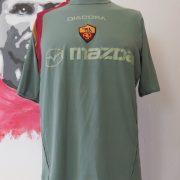 Vintage AS Roma 2004 2005 goal keeper shirt Diadora jersey size XL (1)