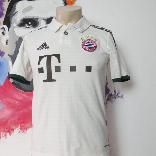 Vintage Bayern Munchen 2013 2014 away shirt adidas size Boys L 164cm 13-14Y (1)