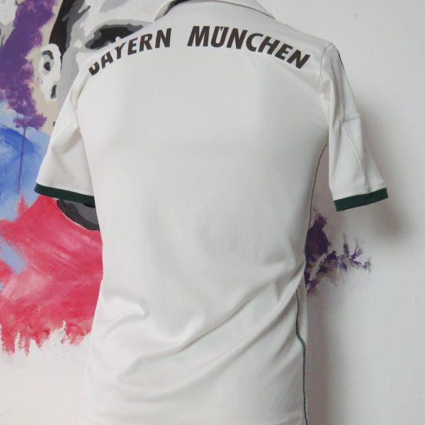 Vintage Bayern Munchen 2013 2014 away shirt adidas size Boys L 164cm 13-14Y (2)