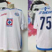 Vintage Cruz Azul 2007 away shirt Umbro jersey #75 size L Mexico