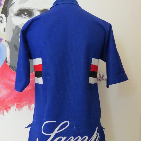 Vintage Sampdoria 1996 1997 home shirt Asics football maglia size S (3)