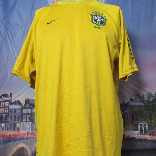 Vintage Brazil 2008 2009 training shirt NIKE Brasil soccer jersey size L (1)