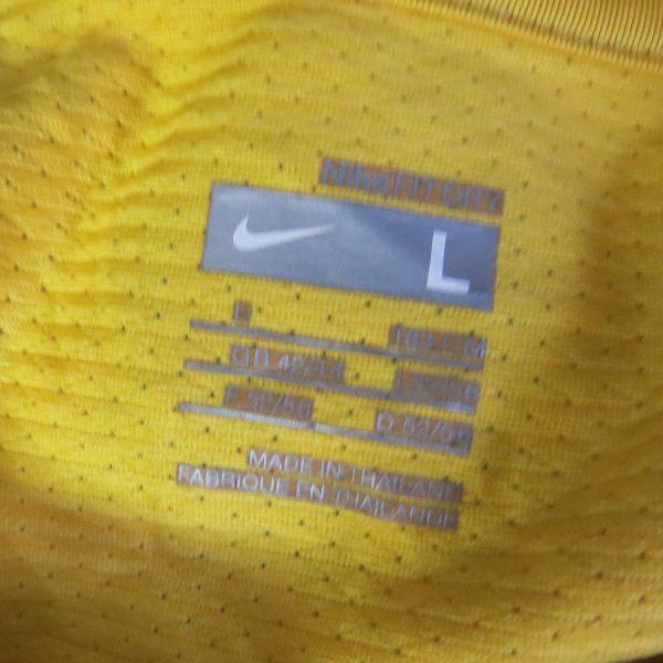 Vintage Brazil 2008 2009 training shirt NIKE Brasil soccer jersey size L (3)