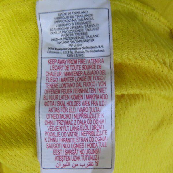 Vintage Brazil 2008 2009 training shirt NIKE Brasil soccer jersey size L (4)