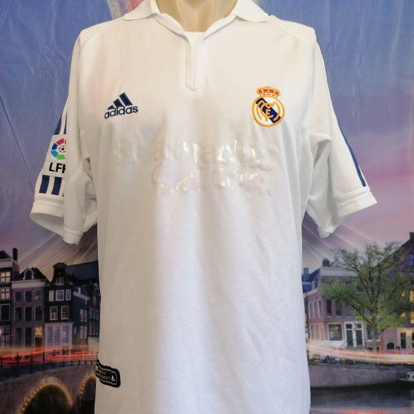 Vintage Real Madrid 2001 home shirt adidas football top size S (1)
