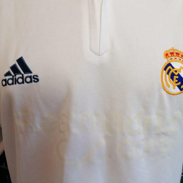 Vintage Real Madrid 2001 home shirt adidas football top size S (6)