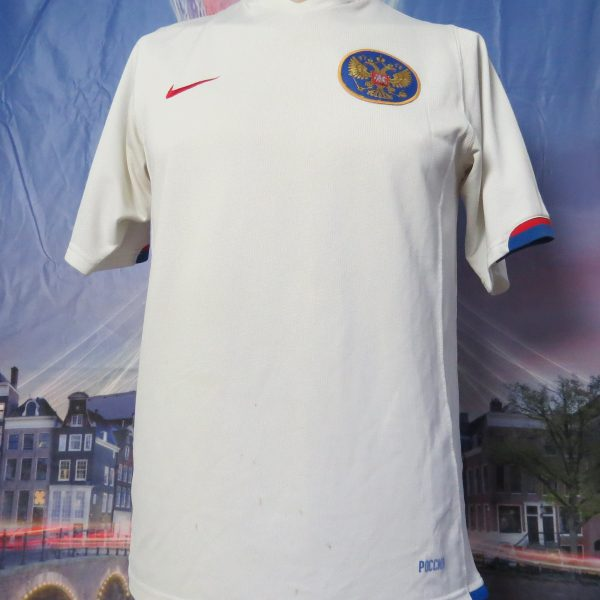 Vintage Russia 2006 2007 2008 away shirt Nike soccer jersey size S (1)
